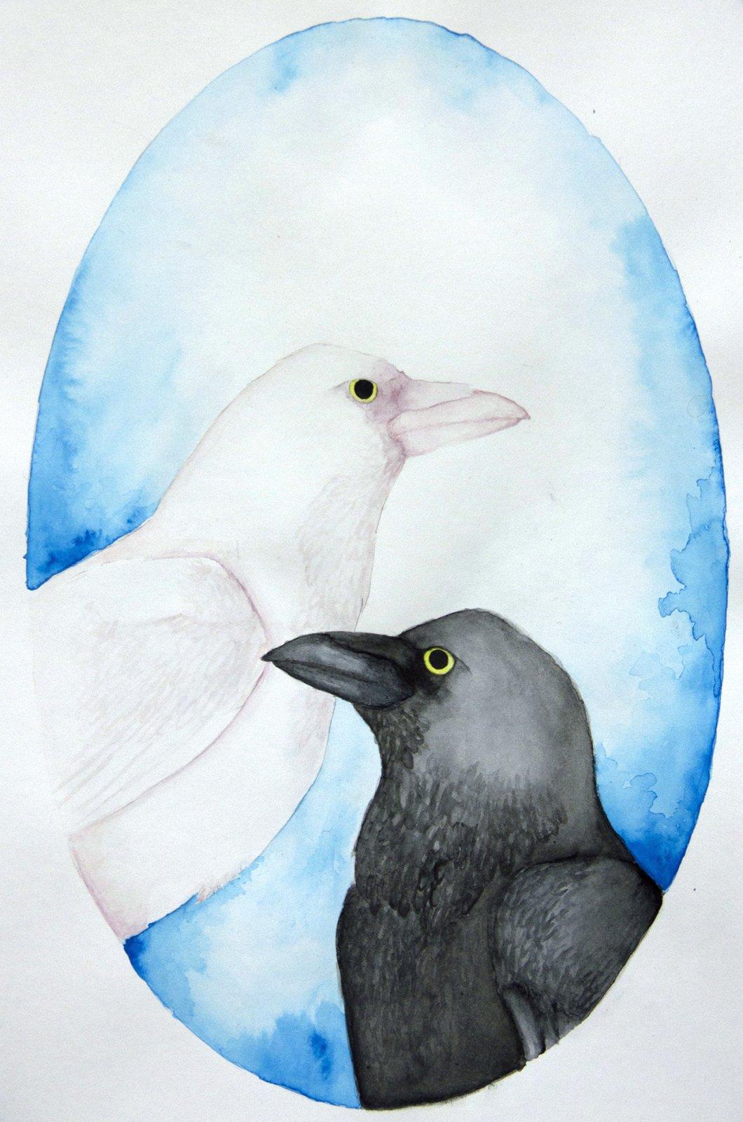 Ninni Vartiainen akvarelli 2018