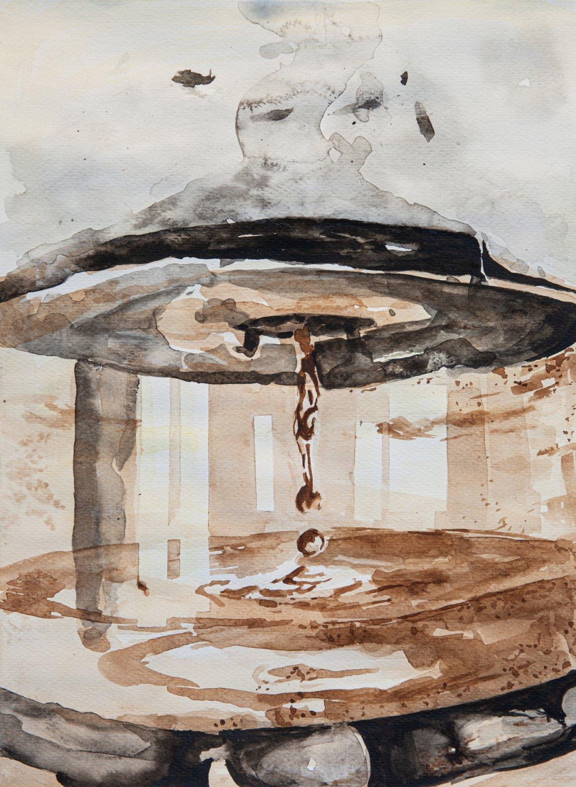 Anniina Rönkkö akvarelli 2019