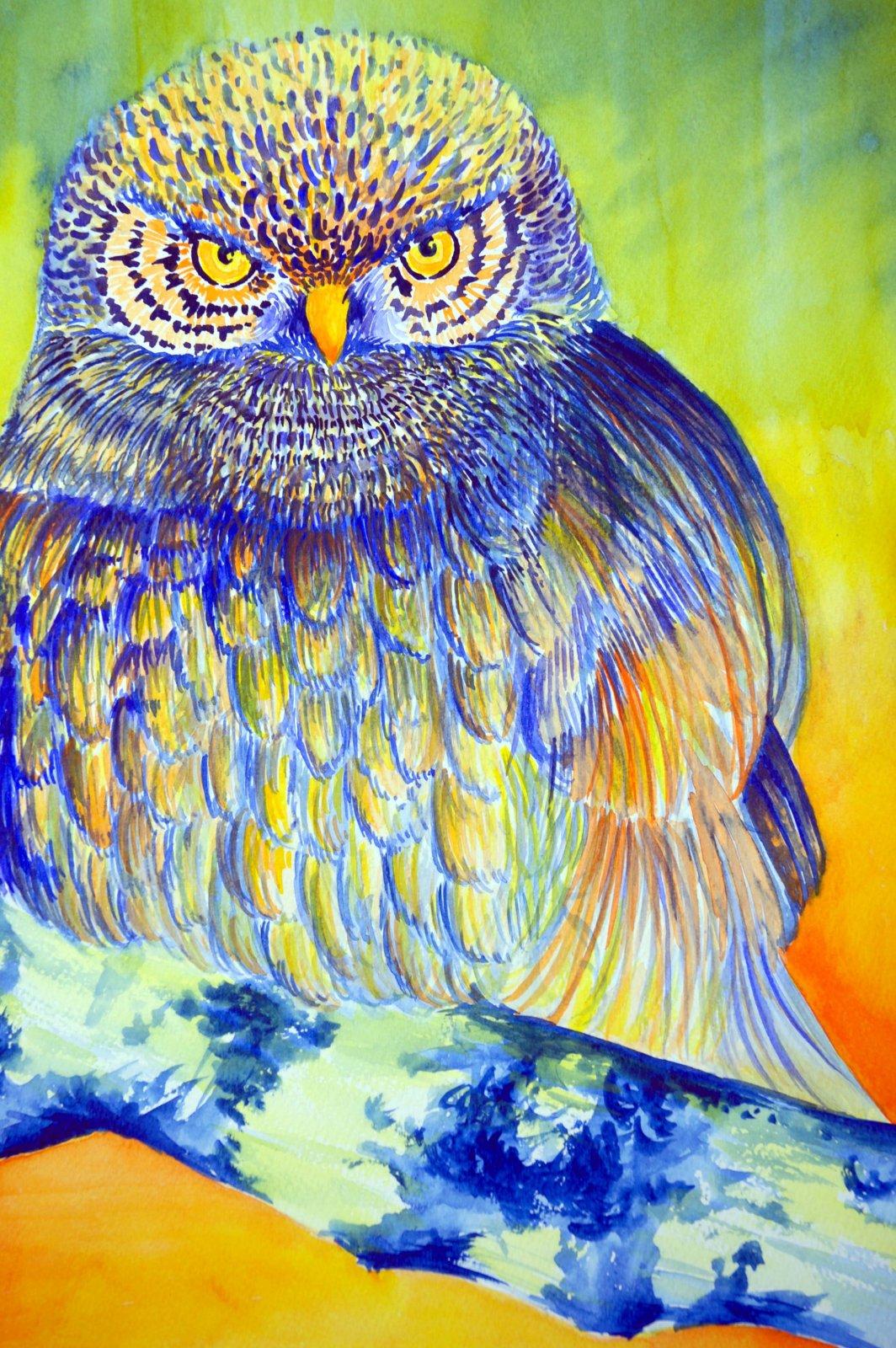 Hanna Korkiakoski akvarelli 2008