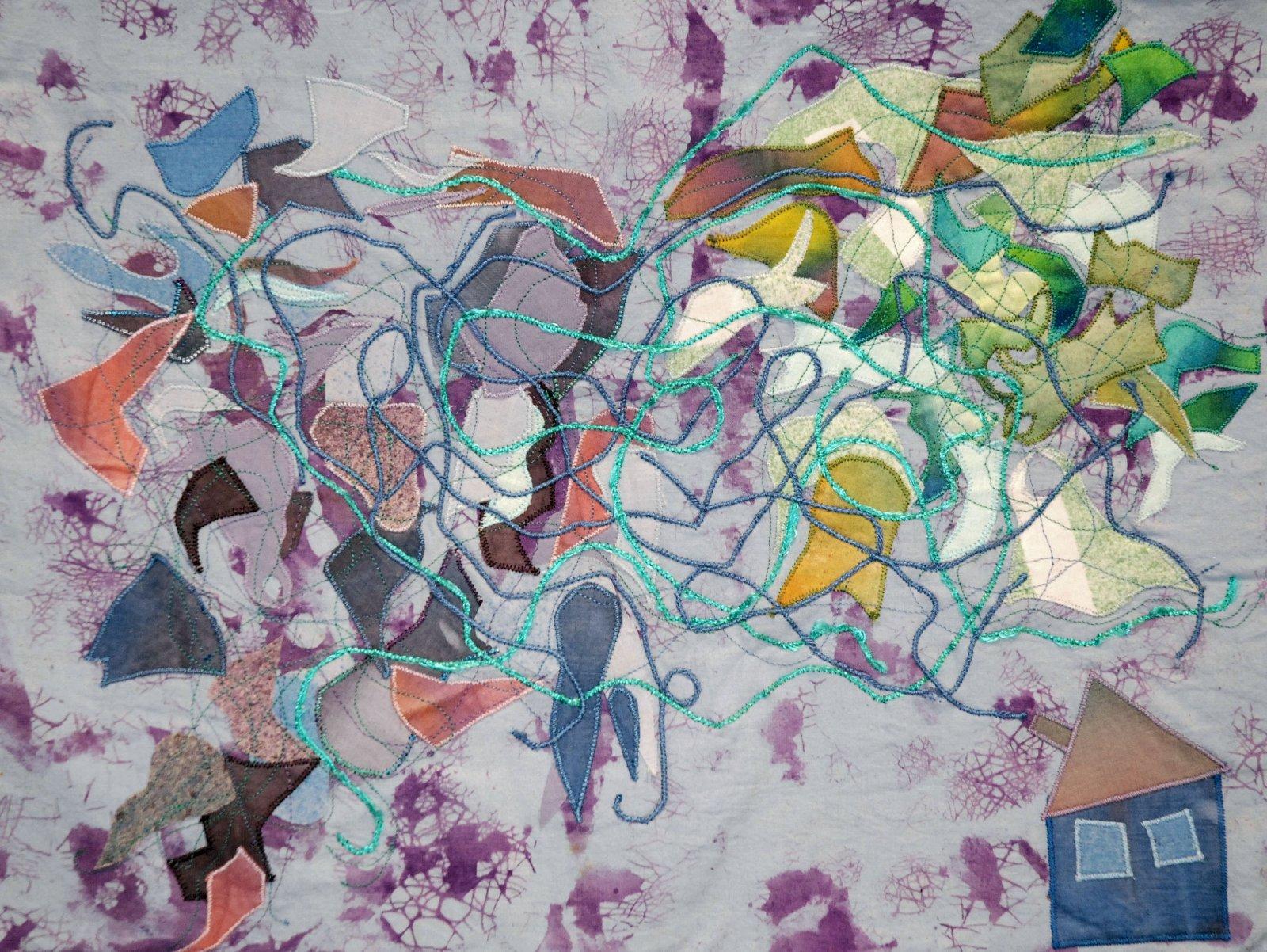 Iisa Manninen kangasapplikaatio 2010