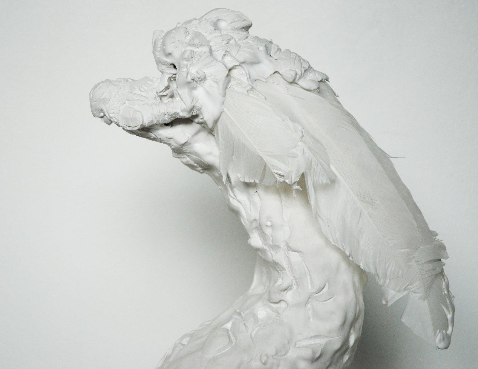 Reetta Vihavainen kipsiveistos  2005