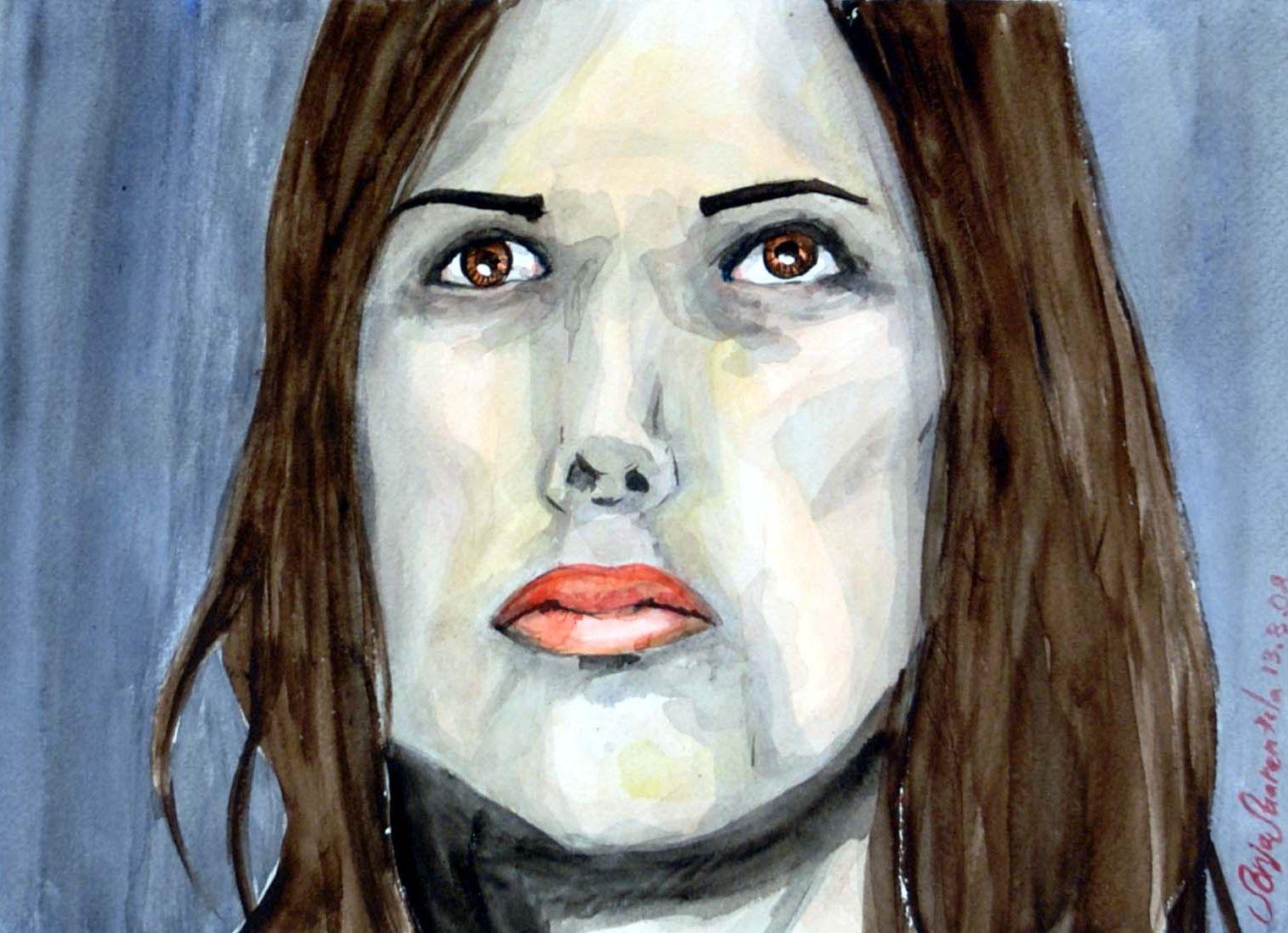 Sonja Saarentola akvarelli 2008