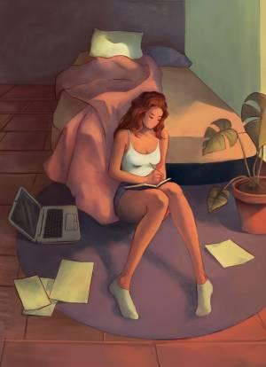Emmi Kauhanen digitaalinen maalaus 2019