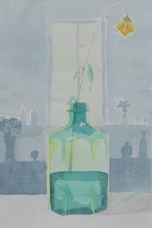 Mia Korolainen akvarelli 2018