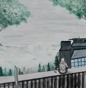 Sonja Laukkanen akvarelli  2018
