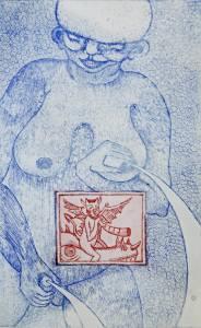 Tiina-Rakel Koponen etsaus 1997