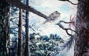Anu Venäläinen Peitevärimaalaus 2011