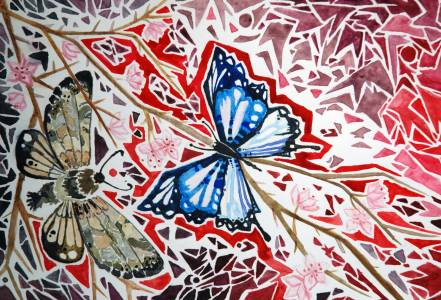 Elli Noropirtti Akvarellimaalaus 2016
