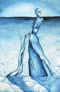 Emma Fält akvarelli 2003