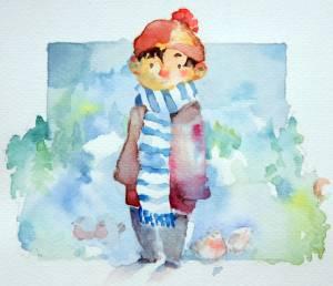 Kaisa Niskanen akvarelli 2009