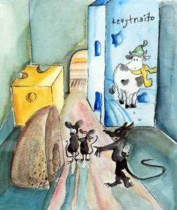 Pirkko Partanen akvarelli 2003