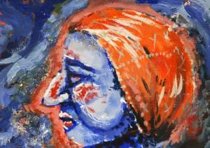 Satu Kauhanen Peitevärimaalaus 2012